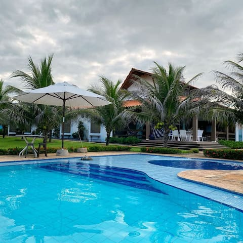 Fabulosa casa Beira Mar Luis Correia.  7 suites