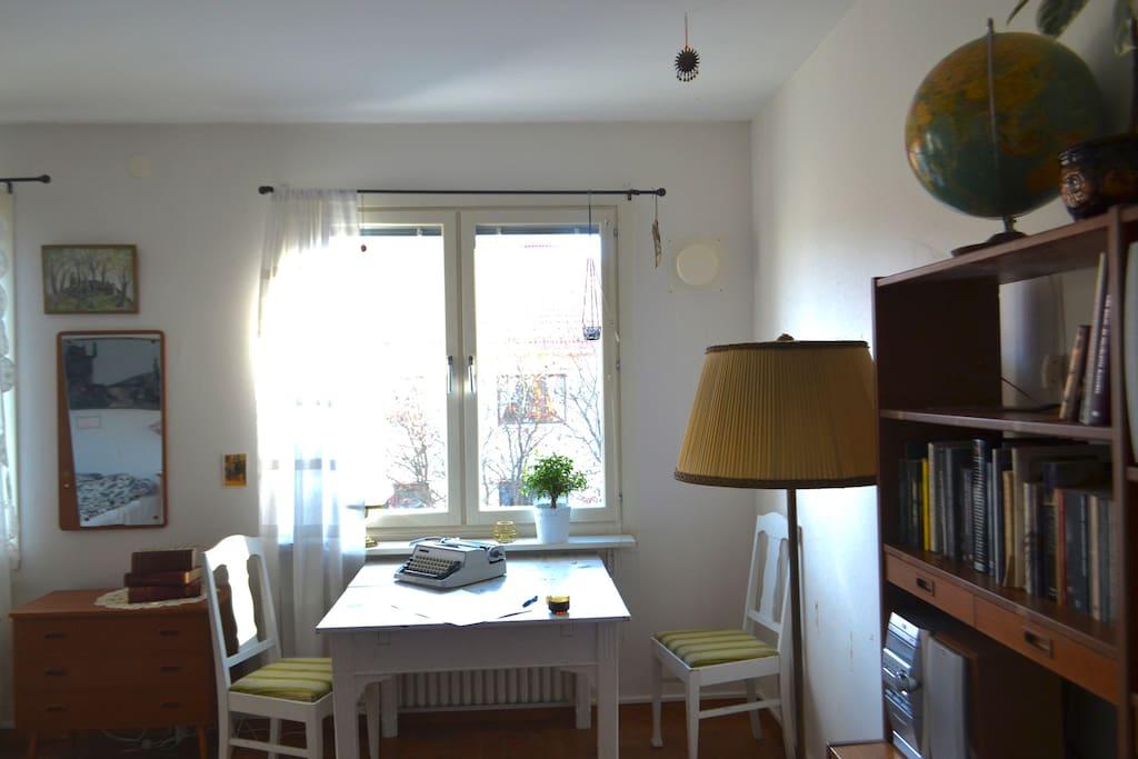 Matbord i rummet