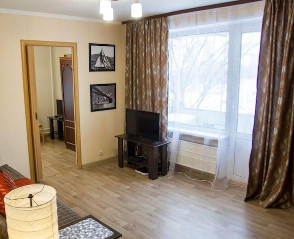 Уютная квартира в живописном районе рядом с метро - Moskva - 公寓