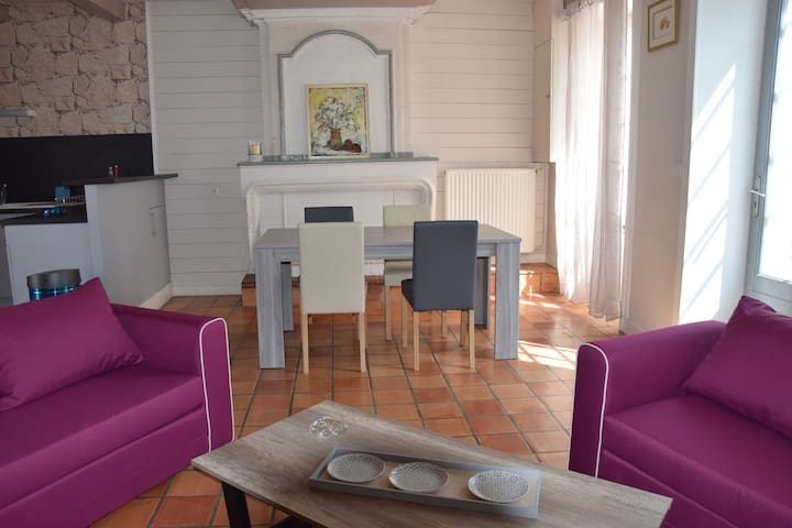Maison de vacances à 10 mn de la rochelle - Saint-Rogatien - Huis