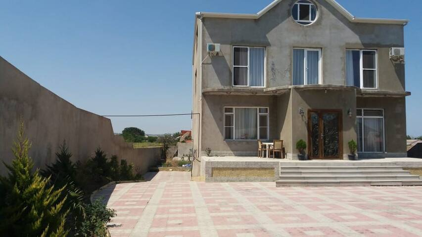 Дом у Моря в Баку - Побережье Каспия Пиршаги