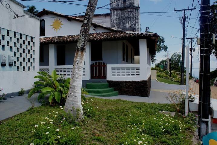 Pouso Verde ideal para famílias ou grupo de amigos - Morro de São Paulo - Dom