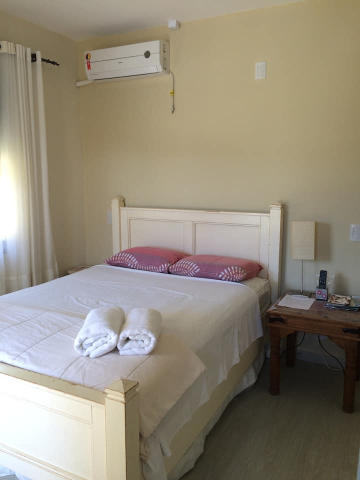 Quarto Suite próximo da praia