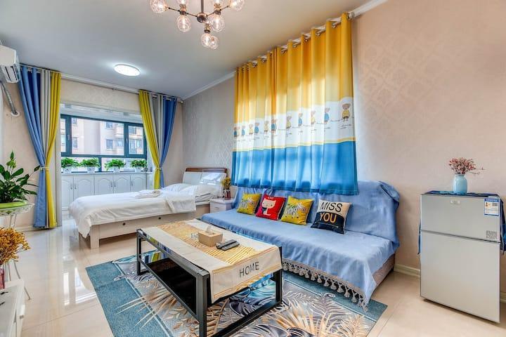『麋鹿·home』开发区 熙春郡 做饭方便空调豪华公寓