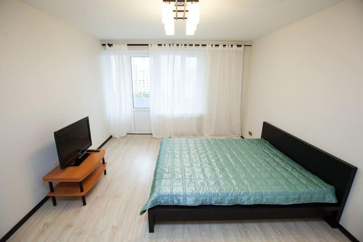 Большая уютная двухкомнатная квартира
