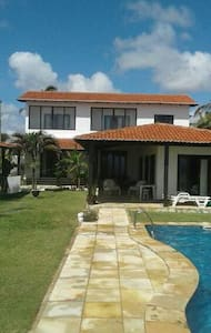 Casa á beira mar, praia de Caraúbas - Натал