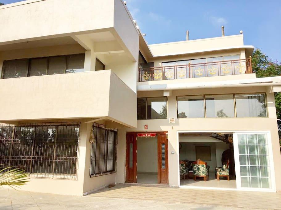 Shanbhar Vishranti - Sahyadri, A Luxurious Villa ...
