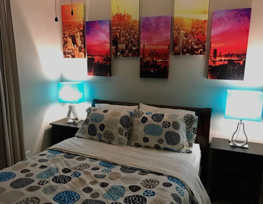 cozy guest room for your stay