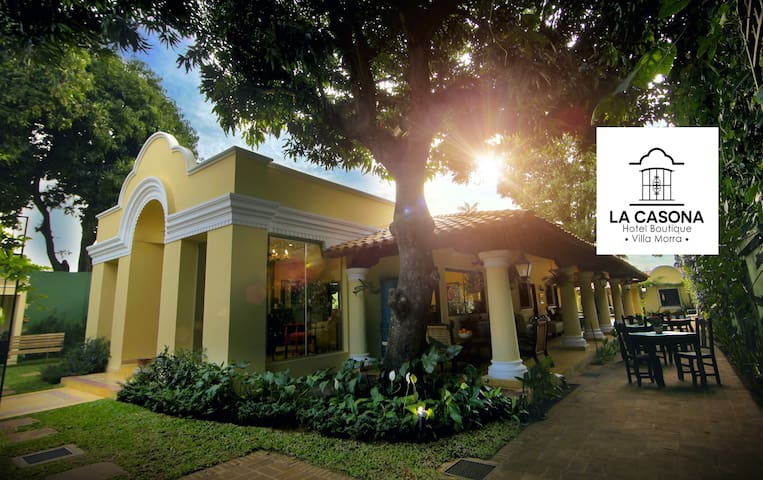 Hotel Boutique en exclusivo barrio Villa Morra - Asunción - Hotel butik