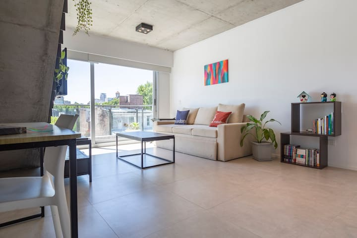 PALERMO - Brand New Loft with Gym Pool and Laundry