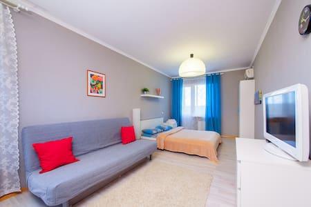 Квартира с панорамными окнами.