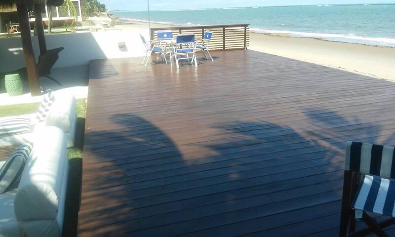 Casa Beira Mar na Praia de Toquinho - porto de galinhas  - บ้าน