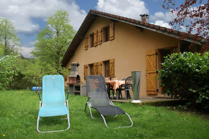 chalet in the Vosges,hiking- and biking possibilities