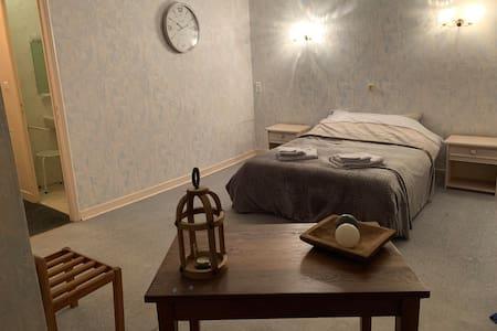 Spacieuse chambre in ancien Hôtel Terrasse privée