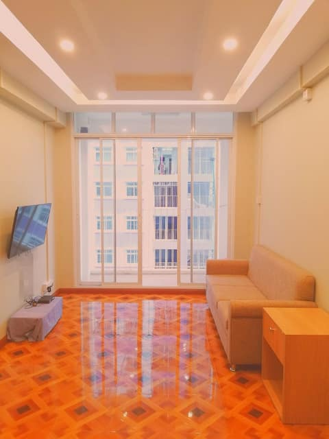 New two bedrooms apartment Yangon River City View