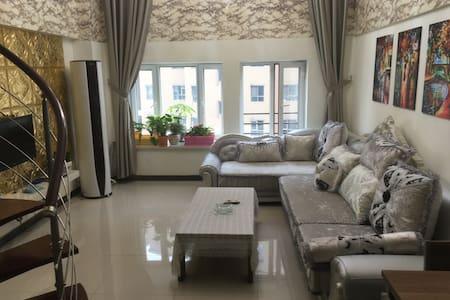 复式公寓楼层高5.4米,这样的房源很难找到,一定记住提前预定哦!欧式 - 伊犁 - Appartement