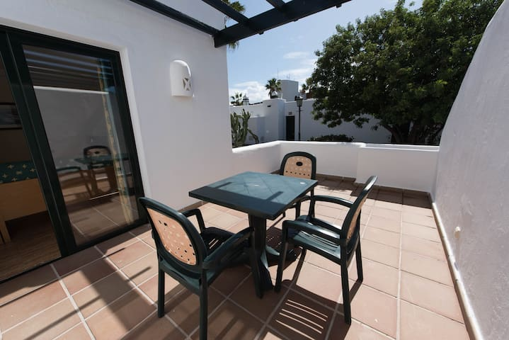 Apartment for 2 people at Palmeras Garden Apartments in Playa Blanca