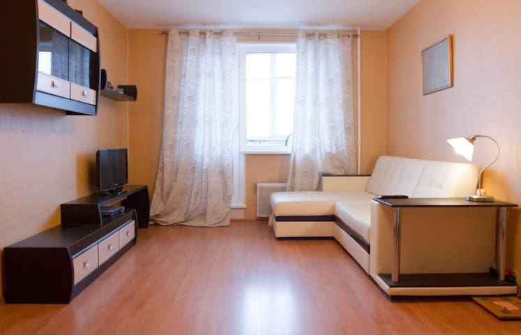 Apartment near the park and subway - Moskva - Apartemen