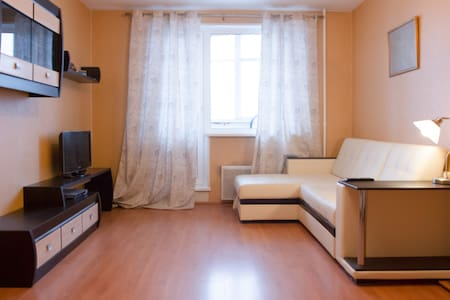 Apartment near the park and subway - Moskva