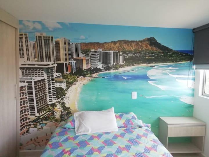 one bedroom apto