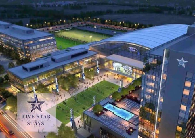 *THE STAR IN FRISCO* Perfect location!