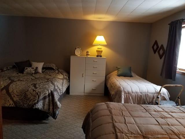 Master Bedroom/Lower Unit