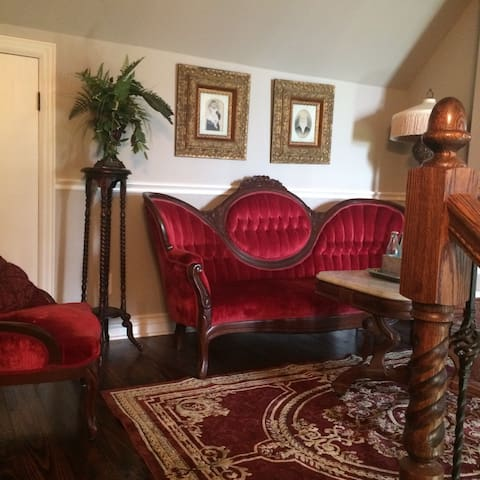 Teacup room at Antique Show - Round Top - House