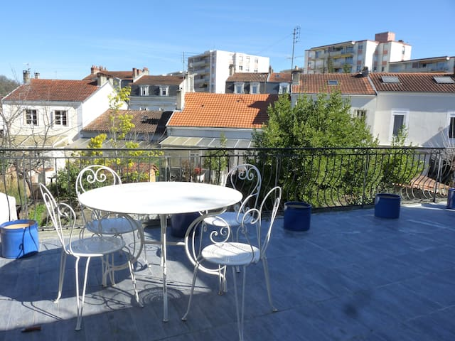 Heart Périgord 75 m2 in city center - Périgueux - Apartemen