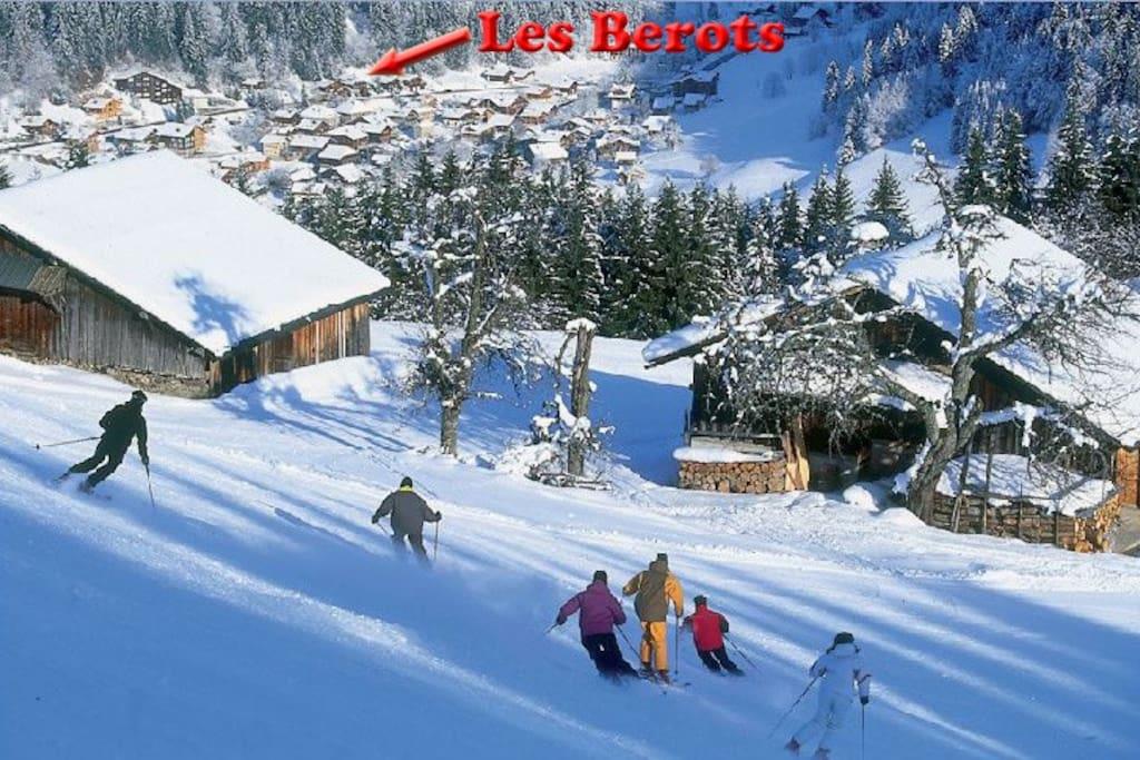 Les Berots, Location