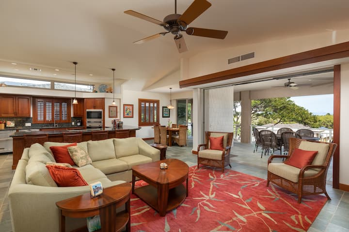 Villages at Mauna Lani 3 bedroom suites with private beach pass