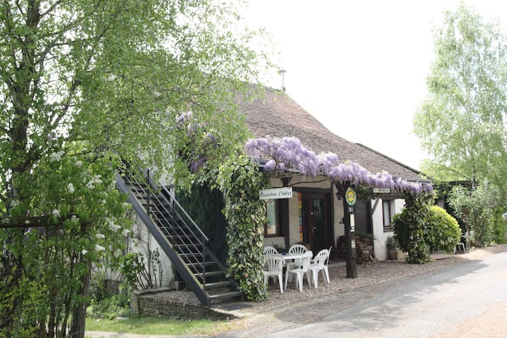 La Maréchalerie, chambres d'hôtes en Val de Loire - Saint-Laurent-en-Gâtines - Guesthouse