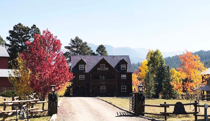 Colorado Country Mountain Home Sleeps 8 - No Pets