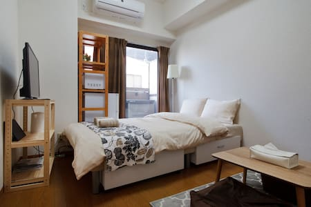 Cozy style/  2mins to station/  up to 3ppl #303 - Abeno Ward, Osaka