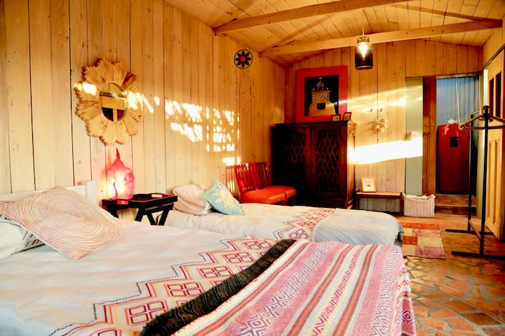 Colourful Rustic Karoo Cottage