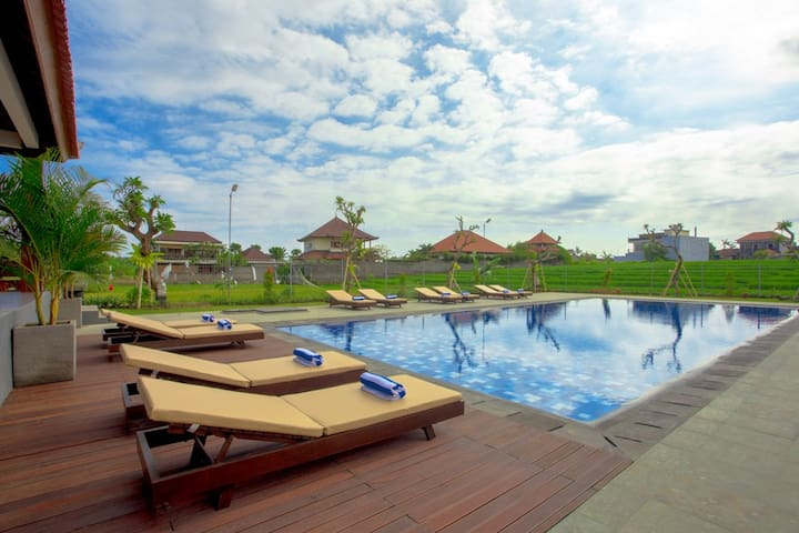 Modern Bali Bungalow in Rice Fields - Kuta Utara - Bed & Breakfast