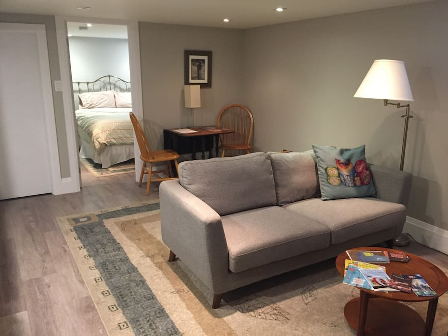 Basement Guest Suite In Toronto's Annex Area