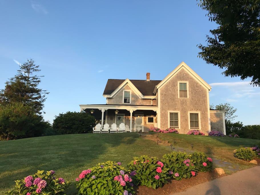 New Shoreham Island Houses