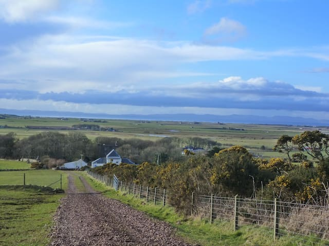 'Campbell' cottage, Kintyre, West coast, Scotland. - Campbeltown - Huis