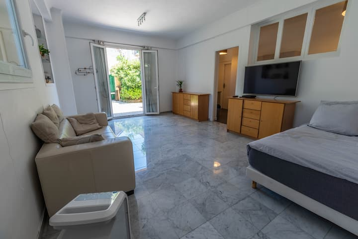 Superb apartment of 45m2, with parking, garden