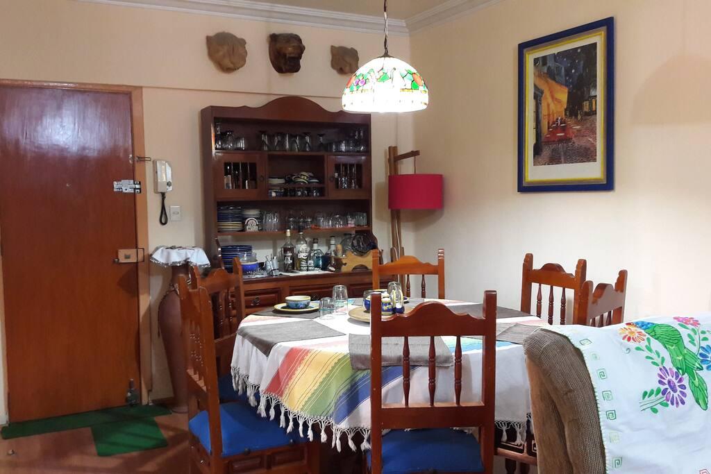Comedor y servicio café y té