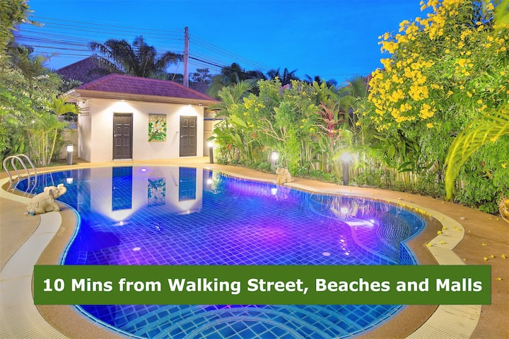 Villa Leelawadee 4-Bed Luxury near Walking Street