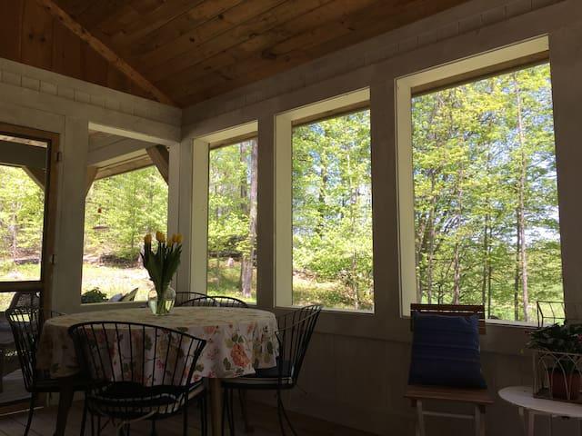 Screen porch.