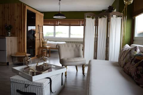 Luxury Spa Appartment near airport