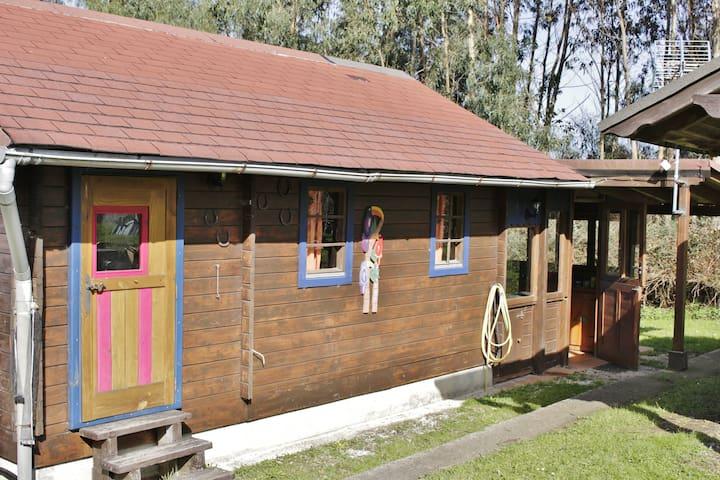 casita de madera acogedora - Güemes