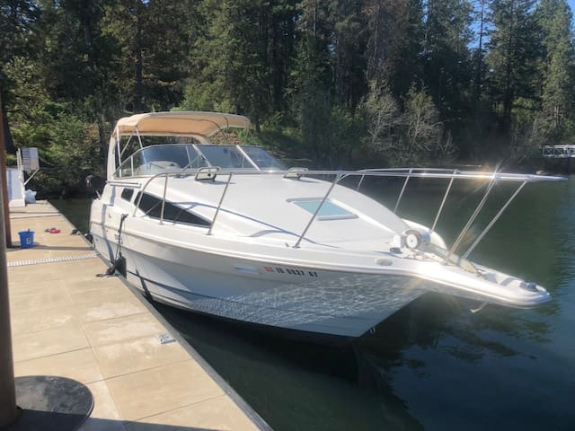 Lake Coeur D' Alene Conklin Marina Boat Retreat