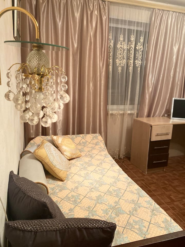 Уютная чистая квартира на ул. Строителей
