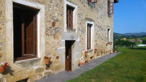 Habitación c/Baño y desayuno entre Liérganes ySomo