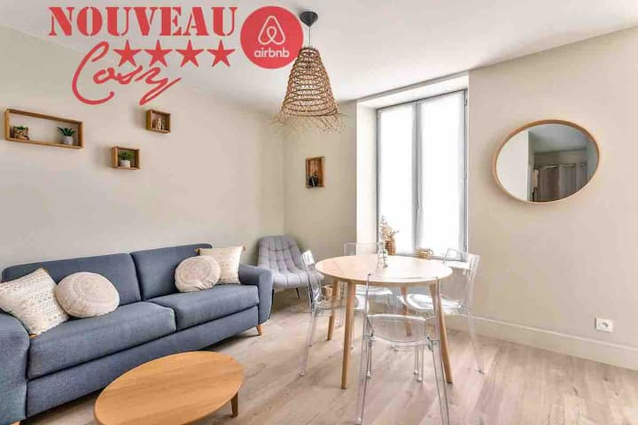 X8 Résidence BNB Confort- Le Cocooning- Proche Mer