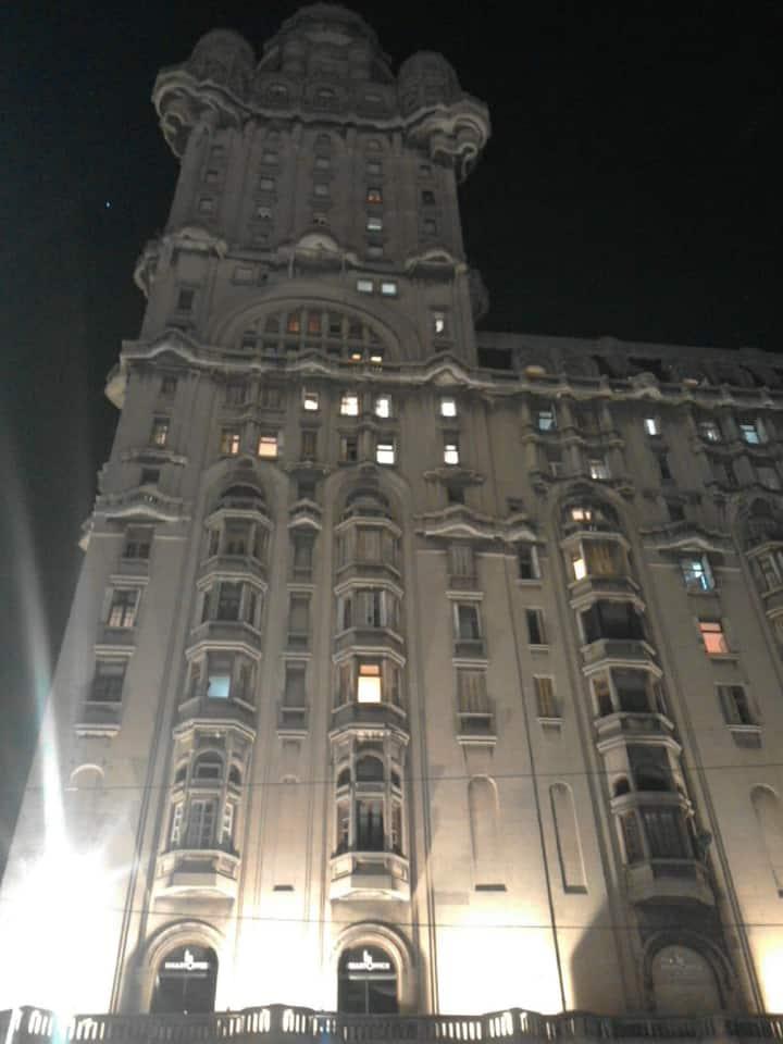 Apartamento en el Palacio Salvo