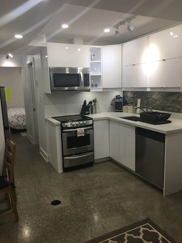 Lower Level apt in Junction Triangle near Subway!